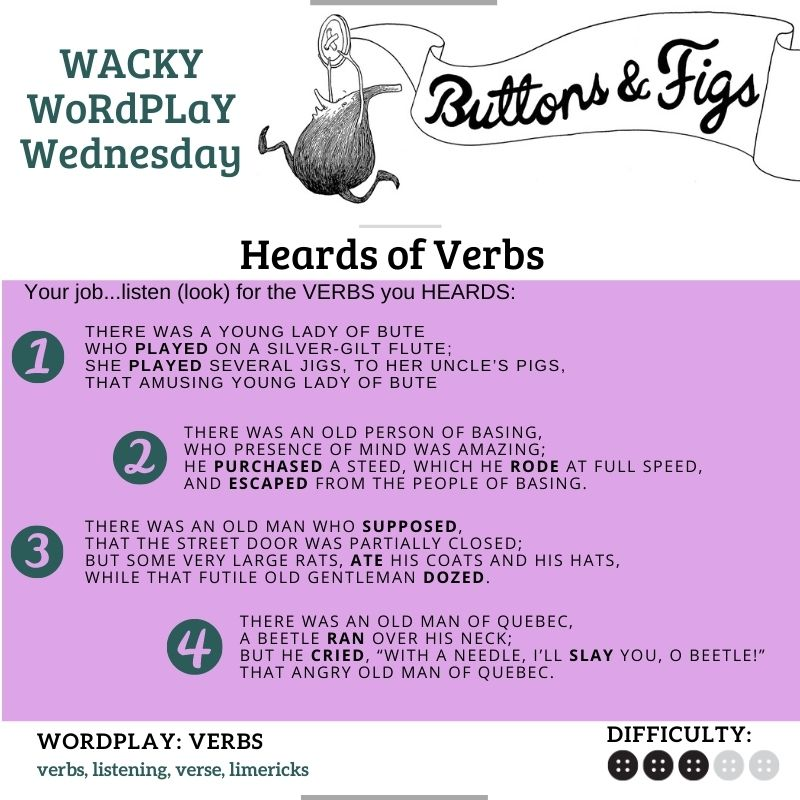 WWW – Heards of Verbs