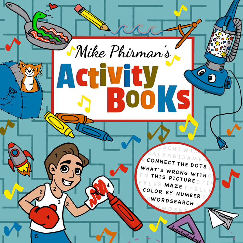 Activity Book Nonsense – New Album and Interview with comedy musician Mike Phirman